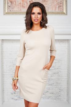 Платье с карманами Angela Ricci со скидкой