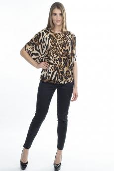 Леопардовая блузка Bast